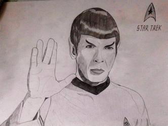 Art No. 1 - Mister Spock by 575750