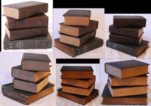 Books Pack 3 by TwilightAmazonStock