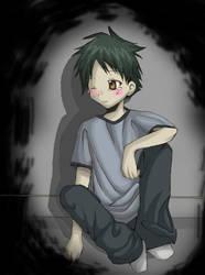 Aww Suguru. by miri-kun
