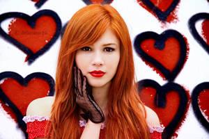 My heart's your pin cushion by WildRainOfIceAndFire