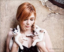 Turquoise and kittens by WildRainOfIceAndFire