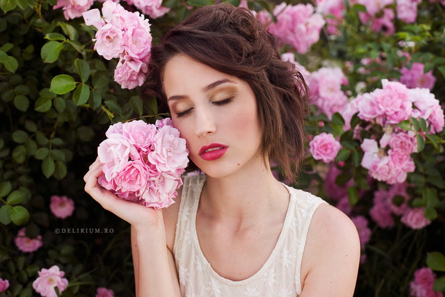 Pink Kiss by WildRainOfIceAndFire