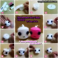 Marshmallow KeyChain Tutorial. by SongAhIn