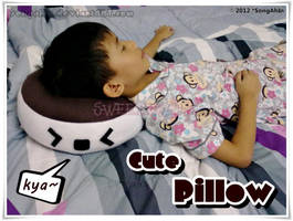 Cute Pillow by SongAhIn