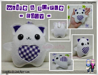 White Purple Eggy by SongAhIn