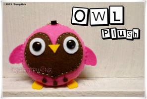 Owl Plush by SongAhIn