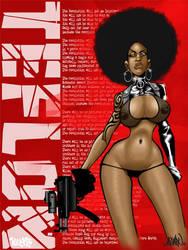 Teflon Poster by ASARU-75