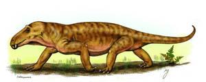 Anteosaurus by mojcaj