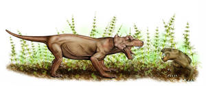 Burnetia and dicynodont by mojcaj