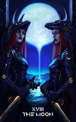 The Moon - Tarot by NeexSethe