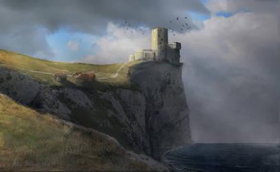 Castle by FryBrix