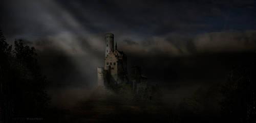 my little scary castle by FryBrix