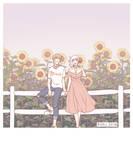 Sunflower Field by winepire