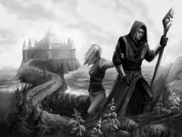 Baldur's Gate: Away from Candlekeep by Leuxdervo