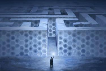 Ice Labyrinth by Leuxdervo