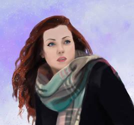 Portrait 1 by Leuxdervo