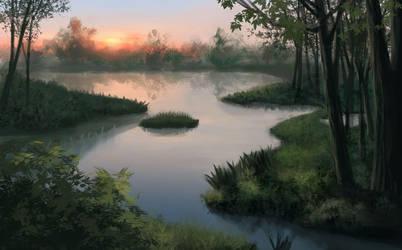Swamp by Leuxdervo