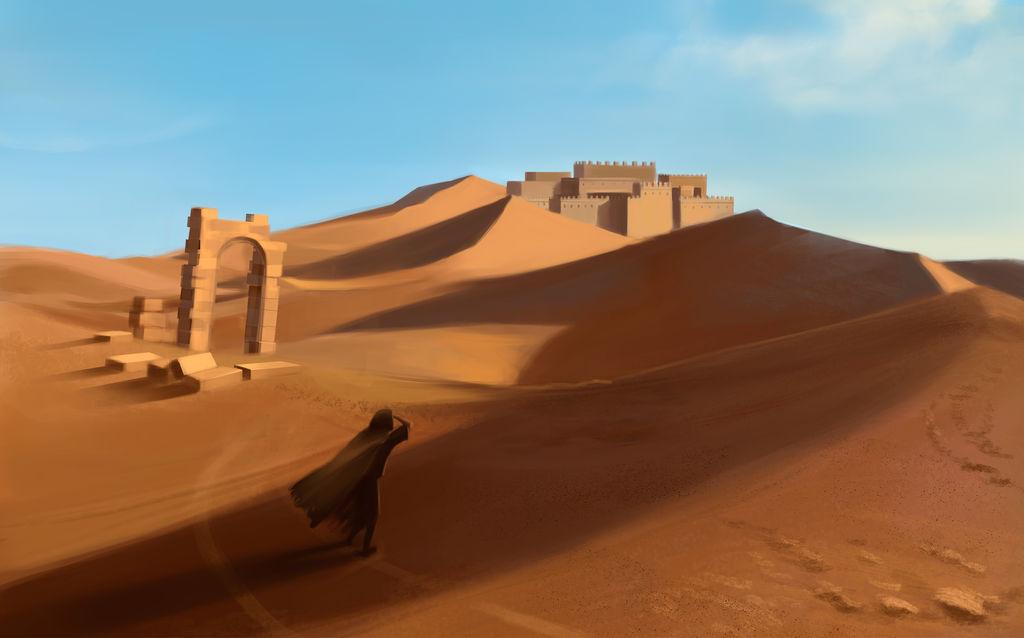 Desert by Leuxdervo