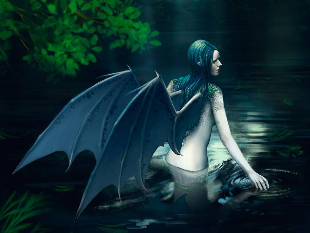 Water Dragon by Leuxdervo