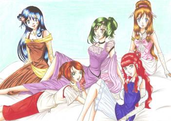 The Comicstars.de Girl by Sil-Coke