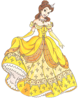 Disney Glamour 1991 Belle by Sil-Coke