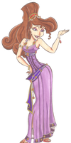 Disney Glamour 1997 Megara by Sil-Coke