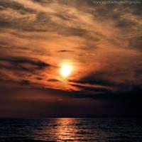 Sunset on the beach 5 by FrancescaDelfino