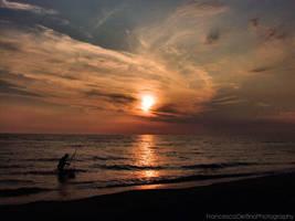 Sunset on the beach 7 by FrancescaDelfino