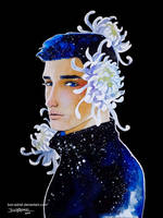 Boy And Flower 3 - Chrysanthemum by bon-adriel