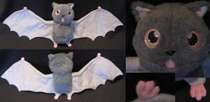 Bat Plush by Monoyasha