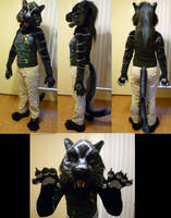 Talle Black Tiger Partial by Monoyasha