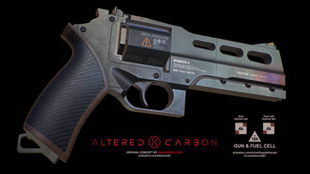 NEMEX (Kovacs' gun concept from Altered Carbon) by konon667
