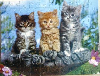 Puzzle Kittens by RODOTHEA