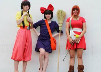 Studio Ghibli Characters by KawaiiKitten777
