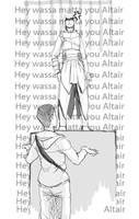 Hey wassa matta you Altair by Tio-Trile
