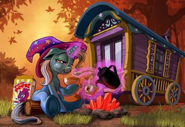 Trixie Day Dawns! by harwicks-art
