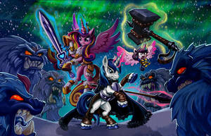 Ponies from the Land of the Ice and Snow by harwicks-art