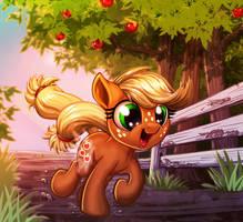 Applejack Appreciation Day 2018 by harwicks-art