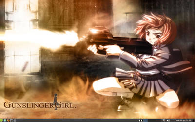 Gunsliger Girl desktop by FMPF
