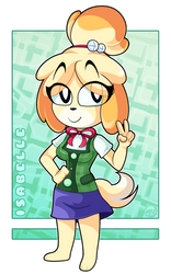 Isabelle by IVOanimations