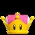 Toadette princess crown