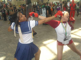Knock OUT by Angelstarr-Sakura