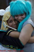 Rin and Miku BFF by Angelstarr-Sakura