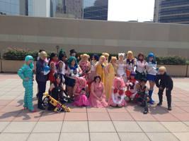 Sailor Moon Gathering Otaon 2014 by Angelstarr-Sakura