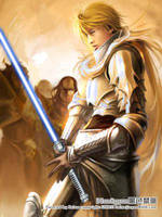 Warrior by Heise - Jedi redux by forcesinmotion
