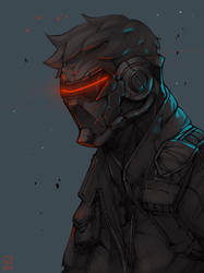 Soldier 76 by simoneferriero