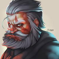 Reinhardt by simoneferriero