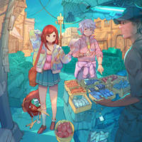 Fish Market by simoneferriero