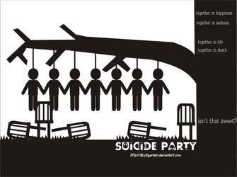 Suicide Party by BLUEgarden