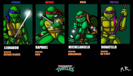TEENAGE MUTANT NINJA TURTLES by ShadowNinja976